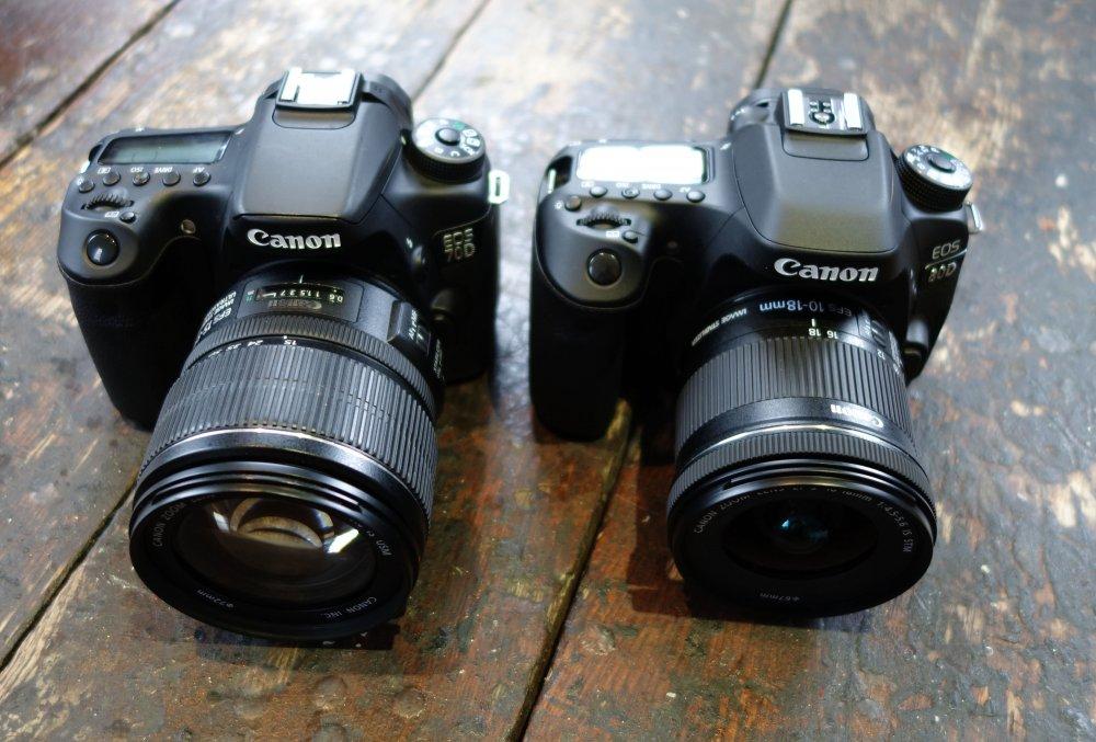 Canon EOS 80D Vs. Canon EOS 70D Review
