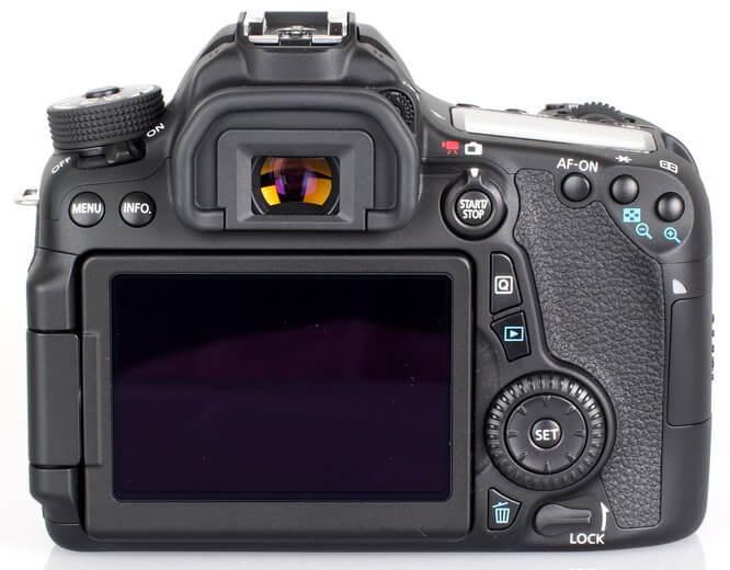 Canon EOS 80D Vs. Canon EOS 70D Body