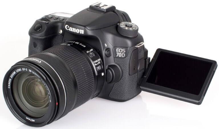 Canon EOS Canon EOS 70D Features